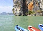 Excursão de lancha pela baía de Phang Nga de Phuket com traslados de hotel. Phuket, Tailândia