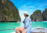 Krabi para Ilhas Phi Phi em lancha. Krabi, Tailândia