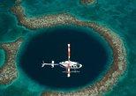 Excursión en helicóptero al Gran Agujero Azul y la Barrera de Coral.. Ciudad de Belice, BELICE