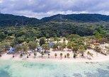 Visita de 5 horas: ônibus Bodden's Beach Break - Clube de praia particular (não há vendedores na praia!). Roatan, HONDURAS