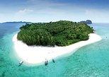 Viagem diurna para as 6 ilhas de Phi Phi saindo de Phuket. Krabi, Tailândia