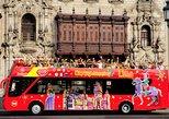 City Sightseeing tour bus tour through the city of Lima, Lima, PERU