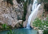 Hike Polilimnio waterfalls. Kalamata, Greece