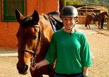 Paseo a caballo por el campo catalán desde Barcelona,
