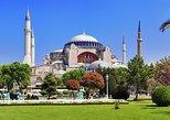 Museu Hagia Sophia, Excursão a pé em grupo pequeno pela Mesquita Azul. Estambul, TURQUIA