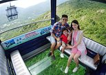 Ingresso para o teleférico Ngong Ping 360 e Ilha Lantau. Hong Kong, CHINA