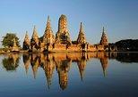 Excursão de 3 dias pelo rio Kwai saindo de Bangkok: Ayutthaya, Kanchanaburi,