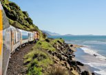 Coastal Pacific Journey - Picton to Christchurch by Train. Picton, New Zealand