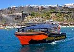 Taxiboat de Gran Canaria desde el puerto de Puerto Rico., Gran Canaria, ESPAÑA