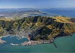 Passeio de helicóptero em Christchurch. Christchurch, NOVA ZELÂNDIA