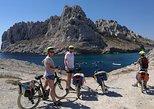 Recorrido en bicicleta eléctrica por Calanques desde Marsella. Marsella, FRANCIA