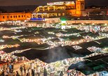 Comida de Marrakech y Djemaa El Fna Market Tour con cena. Marrakech, Ciudad de Marruecos, MARRUECOS