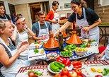 Clase de cocina de Marrakech, visita al mercado en grupos pequeños. Marrakech, Ciudad de Marruecos, MARRUECOS