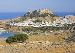Lindos Acrópolis, tour privado del pueblo con recogida en el hotel. Rhodes, GRECIA