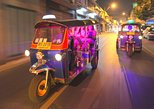 Bangkok Food, Market, Temple Evening Tour by Tuk Tuk. Bangkok, Thailand