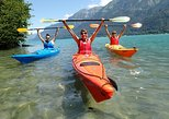 Kayak Tour of the Turquoise Lake Brienz. Interlaken, Switzerland