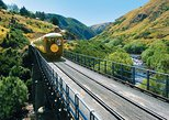 Taieri Gorge Railway and Otago Peninsula Tour from Dunedin. Dunedin y la peni­nsula de Otago, New Zealand