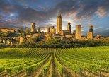 San Gimignano, Volterra Tuscan Countryside Wine-Tasting Tour. Livorno, ITALY