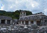 Palenque Archaelogical Site, Agua Azul, Misolha Waterfalls. San Cristobal de Las Casas, Mexico