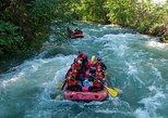 Rafting en aguas bravas en Whistler. Whistler, CANADA