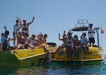 Aluguel de iate ou lancha particular em Ibiza com equipamento de snorkel. Ibiza, Espanha