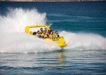 Experiência de grupo pequeno para jet boat em Ibiza com opção Sunset. Ibiza, Espanha