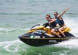 Experiencia guiada en moto de agua por la bahía de San Antonio en Ibiza, Ibiza, ESPAÑA