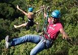 Mountain Ziplining. Surat Thani, Thailand