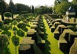Visita independiente de los jardines de Eyrignac Manor en Salignac. Bergerac, FRANCIA