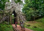 Excursão de bicicleta aos templos de Siem Reap a Angkor de um dia inteiro, incluindo almoço. Siem Reap, Camboja