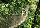 Excursión a los puentes colgantes y las cataratas de Rainmaker Park. Quepos, COSTA RICA
