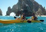 Paseo por el Arco de los Cabos y Playa del Amor en kayak con fondo de vidrio. Los Cabos, MEXICO