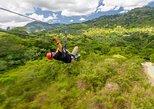 Aventura de tirolesa e na Terra dos Macacos saindo de Punta Cana. Punta de Cana, REPÚBLICA DOMINICANA