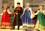 Apresentação de folclore russo no Palácio de Nikolayevsky. San Petersburgo, RÚSSIA