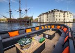 Recorrido de lujo de 1 hora por los canales desde la casa de Ana Frank en Ámsterdam. Amsterdam, HOLANDA
