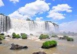 Cataratas brasileñas, el Parque de Aves y la Represa de Itaipú desde Foz. Foz do Iguacu, BRASIL