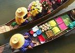 Excursão particular em Bangcoc pelo mercado flutuante, Grand Palace, Wat Phra. Bangkok, Tailândia