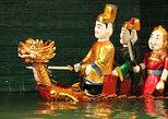 Las entradas para las Marionetas de agua con envío de billete en Hotel Hanoi. Hanoi, VIETNAM