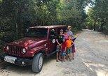 Aventura de jipe pela selva maia para Caverna e Cenote de Jade com snorkel,