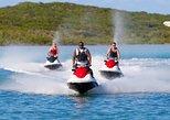 Ilha de São Salvador para grupos pequenos Jet Ski excursão. Isla de San Salvador, BAHAMAS