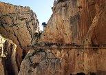 Excursão ao Caminito del Rey. Malaga, Espanha