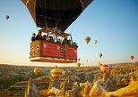 Fairy Chimneys in Cappadocia Hot Air Balloon Ride. Goreme, Turkey