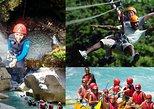Rafting Canyoning and Zipline Adventure from Belek. Belek, Turkey