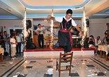 Show de jantar tradicional grego Taverna em Santorini. Santorini, Grécia