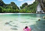 Hong Island Tour de lancha de Krabi c / Opção turística. Krabi, Tailândia