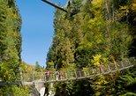 Entrada a Canyon Sainte-Anne. Quebec, CANADA
