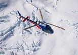 Voo de helicóptero pela geleira Southern saindo de Queenstown. Queenstown, NOVA ZELÂNDIA