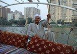 1 hora de passeio de barco Felucca no rio Nilo saindo do Cairo. El Cairo, Egito