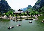 Un paseo en barco y almuerzo en la Pagoda Bai Dinh y Trang An desde Hanoi. Hanoi, VIETNAM