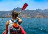 Kayaking on Lake Atitlan. San Pedro La Laguna, Guatemala